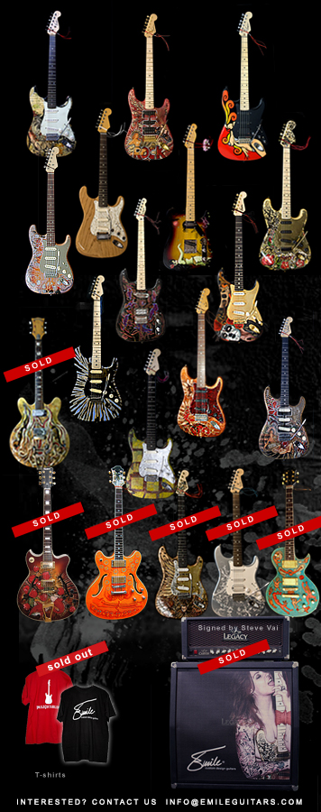 EmileGuitars custom design guitars